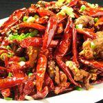 知音食堂 - 重慶歌楽山鶏の辛味揚げ