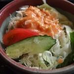 喜多呂 - セットのサラダ