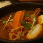 スープカリー ヒリヒリ2号 - ランチキン