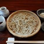 達磨 - おろし蕎麦