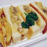 ジョークマン - 料理写真:クロックムッシュ 700円 マスターのお手製ですw これ美味かったぁ~(^ω^)