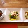 鸞鳳 - 料理写真:前菜三種盛り