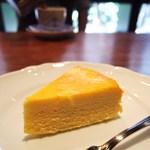 宮越屋珈琲 - チーズケーキ