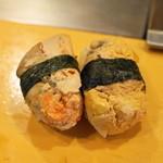 栄寿司 - 2013.6 あんきも(1貫200円)