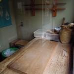 あぜくら - 製麺室。麺は自家製。