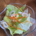 珈琲館ロイヤル - セット:サラダに竹輪