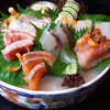海鮮居酒屋 匠和 - 料理写真:特選A盛り¥1500(旬のお造り盛り合せ)2~4名様用