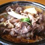 しおさい - 料理写真:すき焼き定食(拡大)