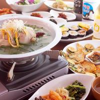 韓国料理 シンガネ - タッカンマリ・・・鶏の旨味をたっぷり引き出したスープは美味しいだけじゃなくてコラーゲンもいっぱい♪