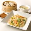 南翔饅頭店 - 料理写真:【ランチセット】 蟹炒飯と小籠包セット 1,609円