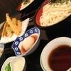 ヒカリ屋 - 料理写真:海鮮ばらちらし(ハーフサイズ)と天ぷら盛りうどん
