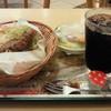 モスバーガー - 料理写真:ナンカレードッグをセットで。