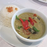 オリエンタル デリ - 鶏肉とナスのグリーンカレー