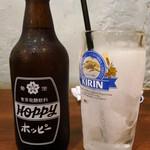 寺嶋屋 - ホッピー360円 焼酎がシャーベットっ!!(驚)