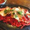 ロッヂ・ハンター - 料理写真:レッド焼きそば800円