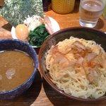 横浜家系 侍 - つけ麺(830円)