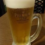 天龍軒 - 生ビール:280円