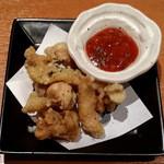 麺と心 7 - 鶏皮サルサ