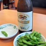 日高屋 - 枝豆¥160