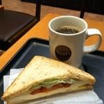 タリーズコーヒー - モーニングセット