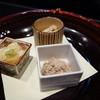 天木 - 料理写真:湯葉、煮豆、自家製ツナフレーク