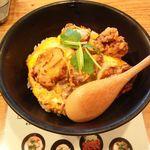 19795515 - 鶏唐柚子胡椒丼