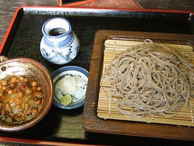 蕎麦喰処 利めい庵