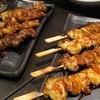 らくう - 料理写真:焼き鳥 得盛セットは 15本1000円! 秘伝のタレ、またはオリジナルブレンドの塩でどうぞ