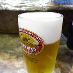 鳥勝 - 生ビール