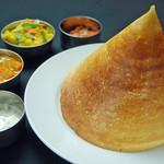 マドラスキッチン - 南インドの定番料理、ドーサ
