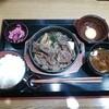 柿安 - 料理写真:黒毛和牛すき焼き御膳(1280円)