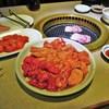 闘牛苑 - 料理写真:カルビ・ロース・上タン塩
