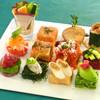 カーポラヴォーロ - 料理写真:自然の恵み12種盛