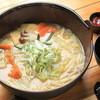 甲州ほうとう 水神 - 料理写真:水神ほうとう・・自家製和風出汁と厳選した麺と甘みの強いかぼちゃが特徴。最後まで飽きずに食べられるこだわり一品