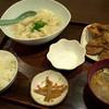 チャイナ食堂かしん - 料理写真:「餃子セット」(600円)水バージョン。