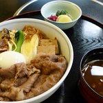 浅草今半 - 明治すき焼き丼(ランチ)