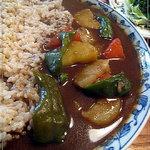オニオンジャック - 野菜カレー