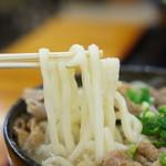 麺処 綿谷 - うどんのアップ