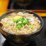 麺処 綿谷 - 肉うどんの小350円