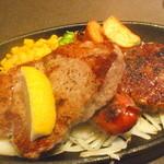 ステーキのあさくま - 父の日プレート(1780円)