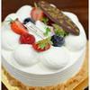 木の実 - 料理写真:バースデイ用デコレーションケーキ