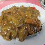 マルケイ食堂 - カレーライス大盛り 600円