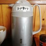つけ麺 弥七  - 豚骨煮干つけ麺(麺少なめ)700円 味玉 2013年7月