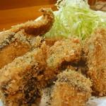宵 - 地魚のフライ(この日はブリ) 600円