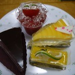 菓子工房 yamao - 買ったケーキ達