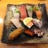 魚河岸のすしえびす - 料理写真:サービス定食 (10貫) @780円