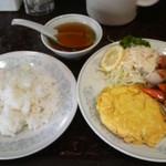 新華苑 - 料理写真:火曜日だったかな?日替わり。