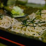山葵 - 料理写真:〆にはやはり蕎麦です。