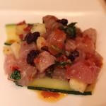 エリオ・ロカンダ・イタリアーナ - 料理写真:季節の鮮魚のマリネ (ヒラマサ)