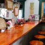 南阿蘇一心庵 - (2012.11)カウンターとテーブル1つの小さなお店です。